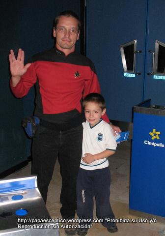 Par de Locos en Star Trek la pelicula!