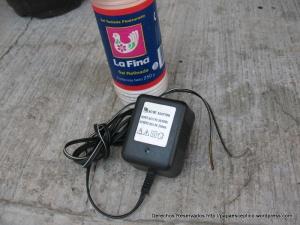 aparato para hacer iones en tinas ionspa