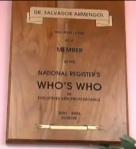 dr salvador armengol who's who