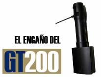 engaño del detector molecular gt200
